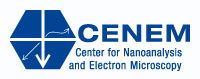 Logo of Center for Nanoanalysis and Electron Microscopy (CENEM)