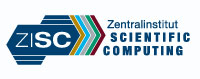 Logo of Zentralinstitut for Scientific Computing (ZISC)