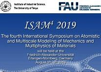 "Zum Artikel ""The 4th International Symposium on Atomistic and Multiscale Modeling of Mechanics and Multiphysics of Materials (ISAM4)"""